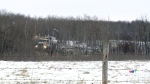 Oil leaks from pipeline in southern Sask.