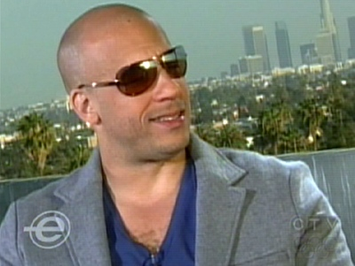 Bad boy Vin Diesel shows his softer side in his permenant role as daddy.