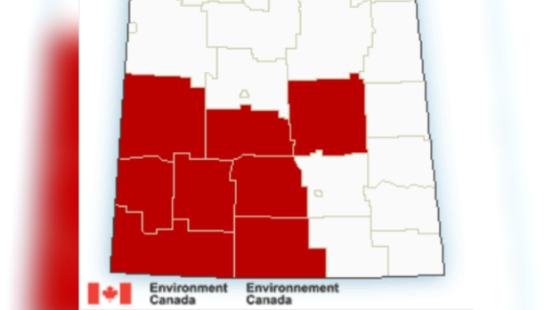 Warnings - Saskatchewan - September 29, 2019