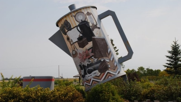 World's largest coffee pot