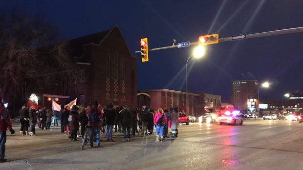 wet'suwet'en protests Regina