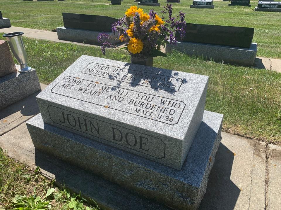 john doe headstone