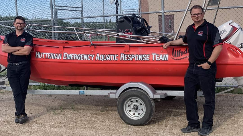 Hutterien Emergency Aquatic Response Team