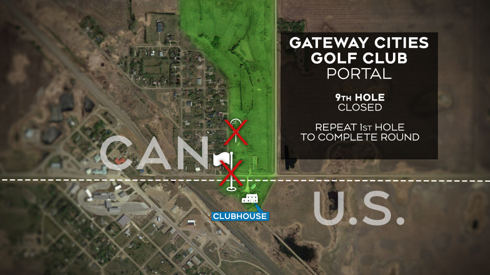 Gateway Cities Golf Map 1