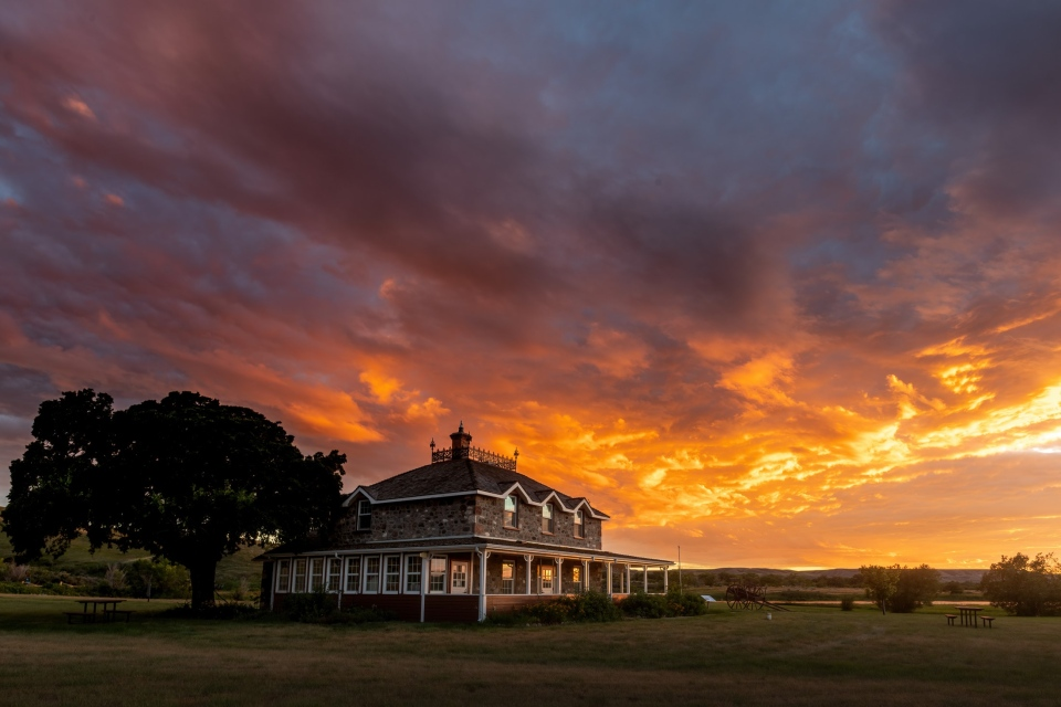 Amazing Sunset over Goodwin House
