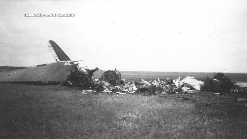 Estevan plane crash