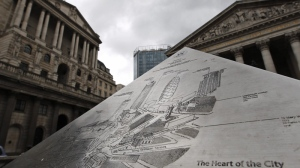 A view of London's City financial district on June 29, 2012. (AP / Lefteris Pitarakis)
