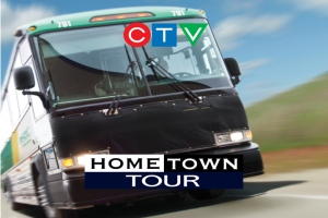 Launched in 2009, the CTV Hometown Tour was developed to complement CTV's ongoing commitment to community. Every spring and fall viewers are invited to nominate their community and share what makes their community special