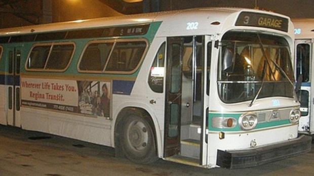 Regina transit bus